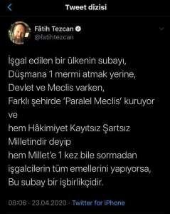 Tarihçi-Yazar Mehmet Işık'tan, Atatürk'e Hakaret Eden Fatih Tezcan'a Sert Çıkış