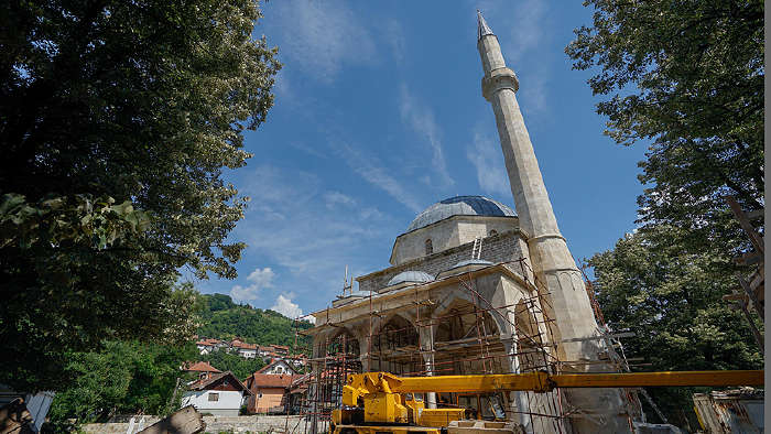 Bosna'nın İncisi Alaca Camii Küllerinden Doğuyor