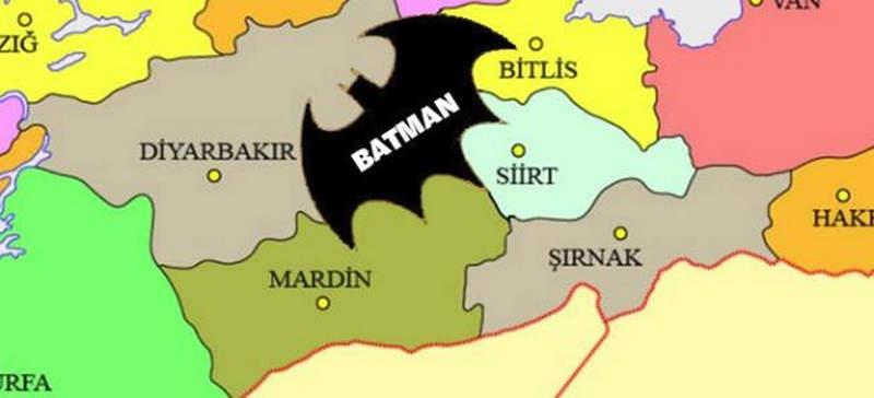 """Batman İl Sınırının """"Batman"""" Logosu Gibi Olması İçin İmza Toplanıyor"""