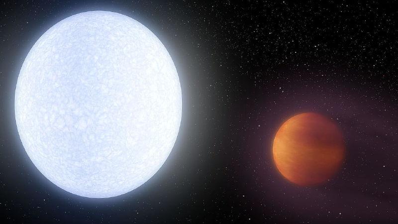 4 Bin Derece Sıcaklığı İle En Sıcak Gezegen Bulundu: Kelt 9-B
