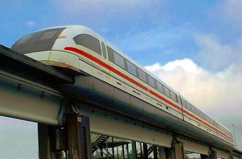Manyetik Raylı Tren – Maglev