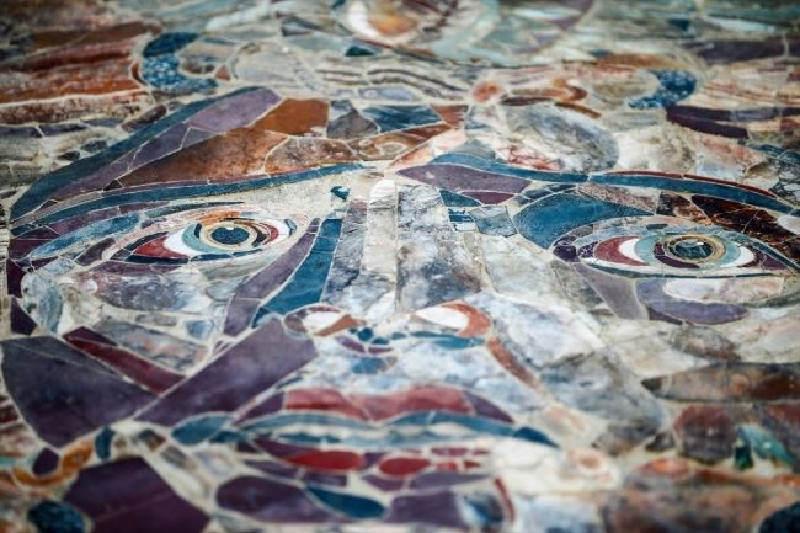 Medusa Mozaiği – Kibyra Antik Kenti – Burdur