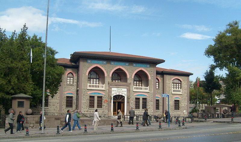 II. TBMM binası, 1981 yılından beri müze olarak kullanılır.