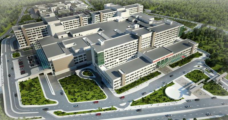 Eskişehir Şehir Hastanesinin İnşaatı Tamamlandı