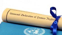 İnsan Hakları Evrensel  Bildirisi (Beyannamesi)