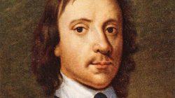 Mezarından çıkarılıp asılan komutan Oliver Cromwell