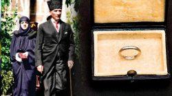 Atatürk'ün Latife Hanım'a Taktığı Nikah Yüzüğü
