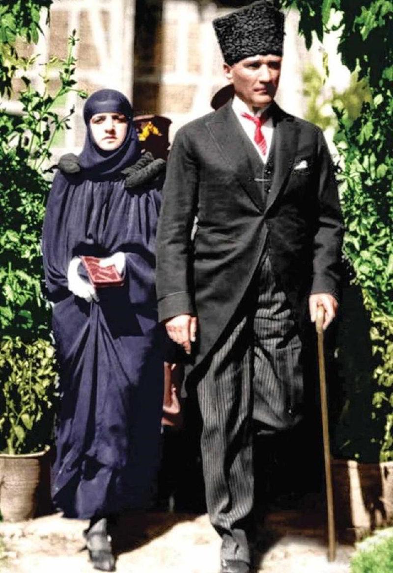 Mustafa Kemal Atatürk ve Latife Hanım