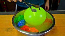 Şişirilmiş Balon Sıvı Nitrojen İle Dondurulursa Ne Olur?