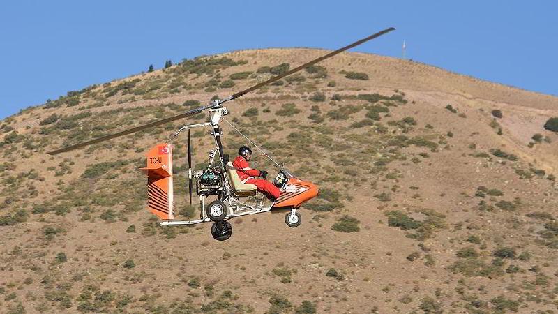 Kayseri'de Doktor ve Tekstilci İki Arkadaş 'Cayrokopter' Üretti