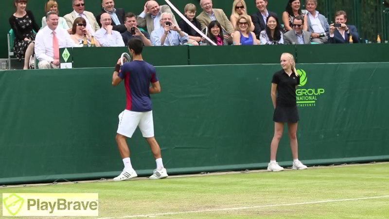 Novak Djokovic ve Grigor Dimitrov'dan Maria Sharapova Taklidi