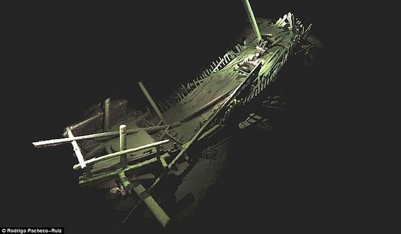 Karadeniz'de Dünyanın Sağlam Durumda Olan En Eski Gemisi Bulundu