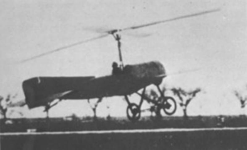 İlk Cayrokopter - 1923