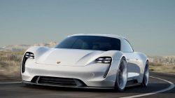 Porsche'nin Türkçe İsimli Elektrikli Otomobili Taycan Tasarımıyla Göz Kamaştırıyor