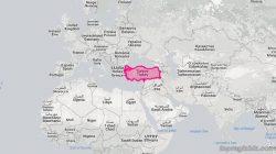Dünya Haritası Üzerinde Türkiye'nin Yerini Değiştirsek Nasıl Görünürdü?