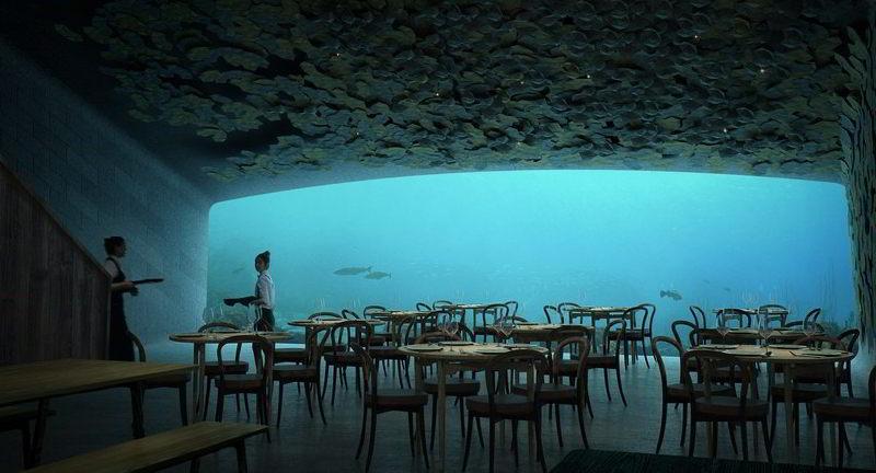 Avrupa'nın İlk Su Altı Restoranı 2019 Yılında Açılacak