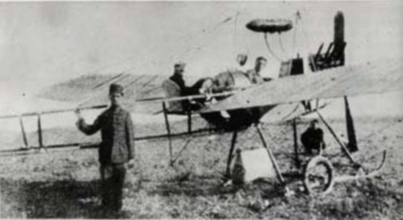 Balkan Harbinde Osmanlı tayyarecileri, 1912