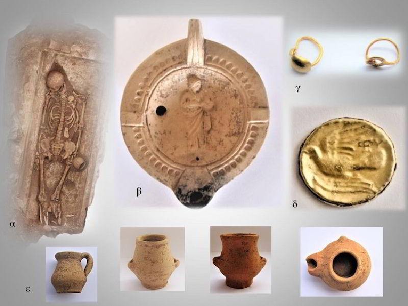 Tenea Antik Kentinden buluntular