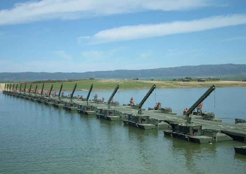 Yüzen Hücum Köprüsü SAMUR