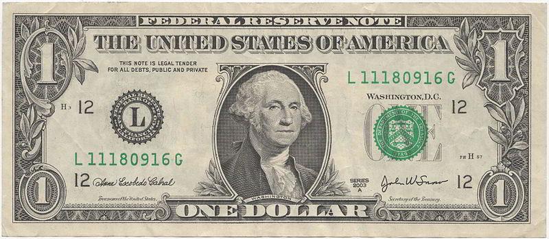 1 Amerikan Doları