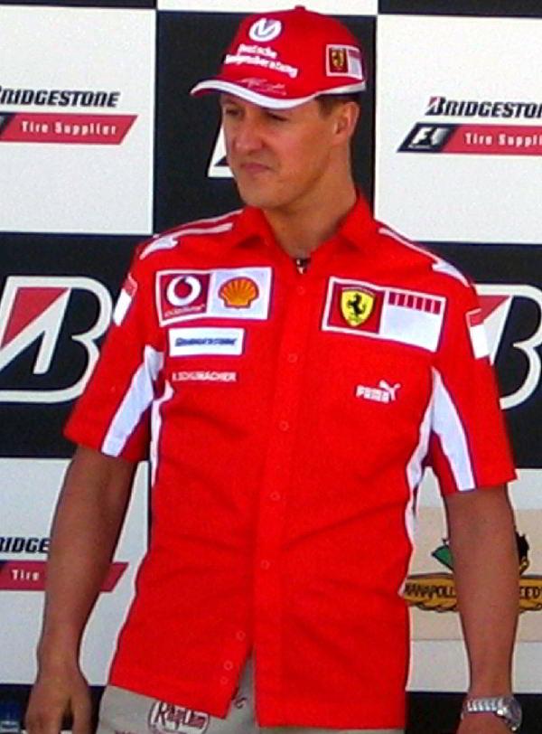 Michael Schumacher yedi defa Formula 1 şampiyonluğu kazanmıştır.
