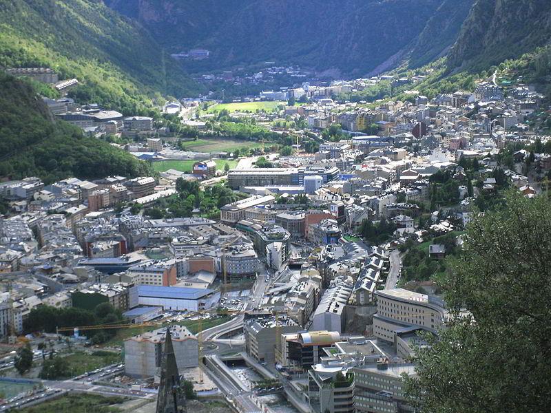 Başkent Andorra la Vella