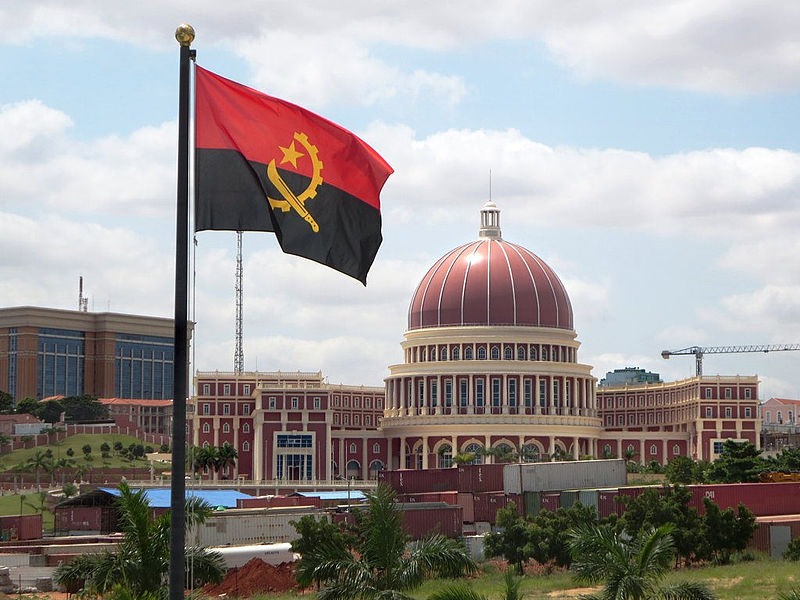 Başkent Luanda'da Angola Millet Meclisi.