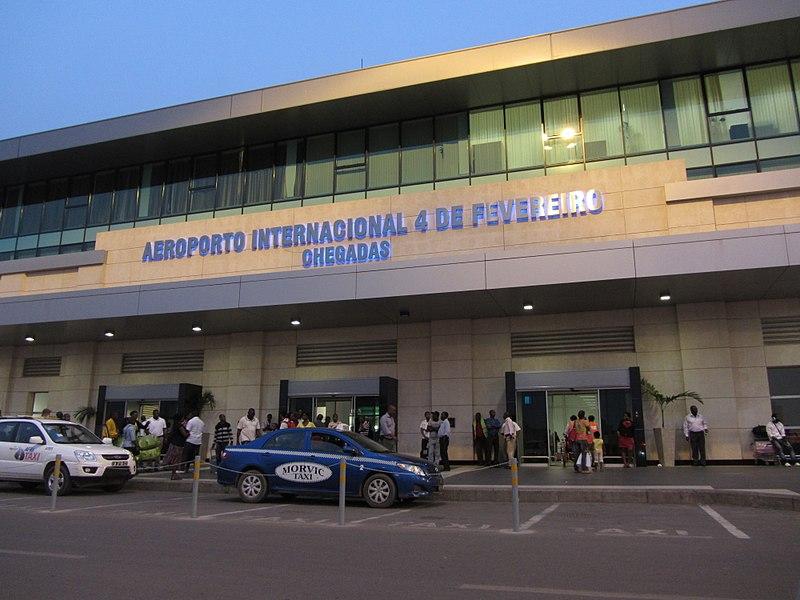Luanda'da bulunan havaalanı