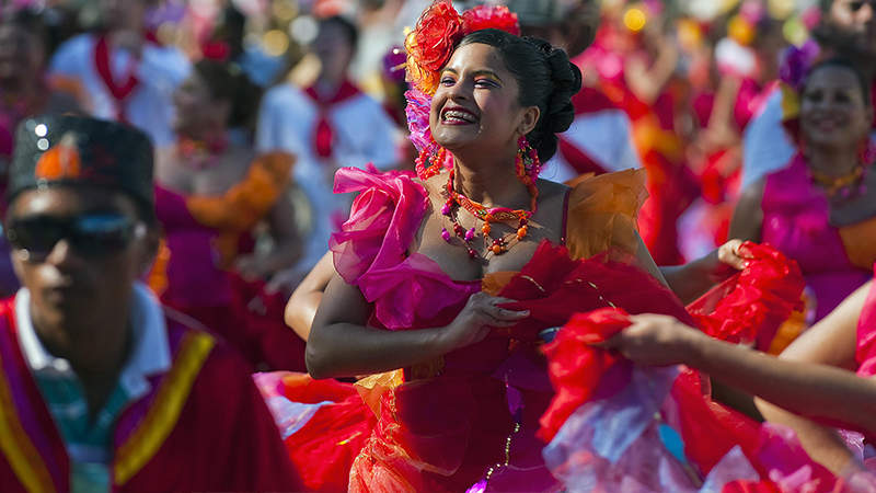Cumbia Dansı