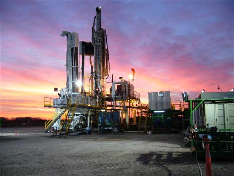 General Roca, Rio Negro Eyaleti'nde YPF petrol perforasyonu