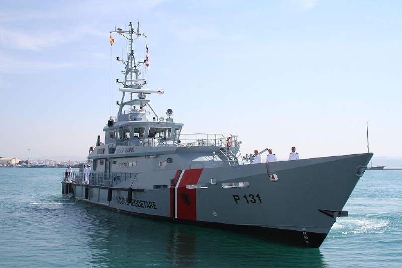 Arnavutluk Deniz Kuvvetleri'ne bağlı Iliria devriye gemisi