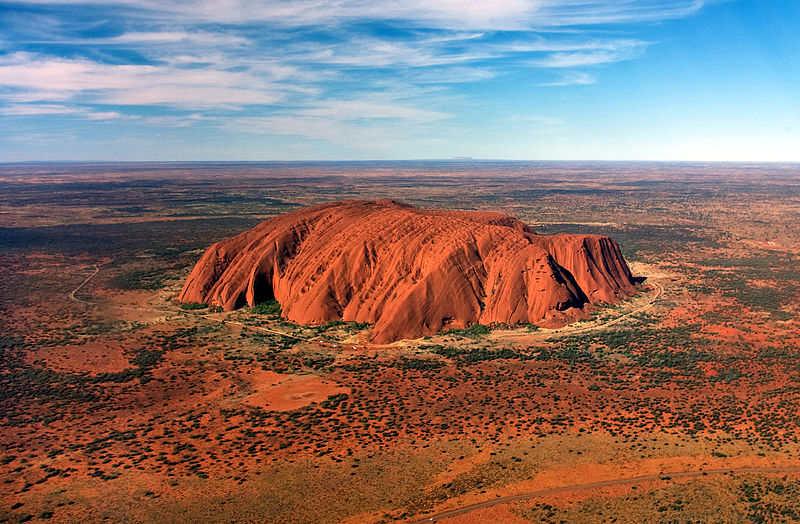 Kuzey topraklarında Uluru