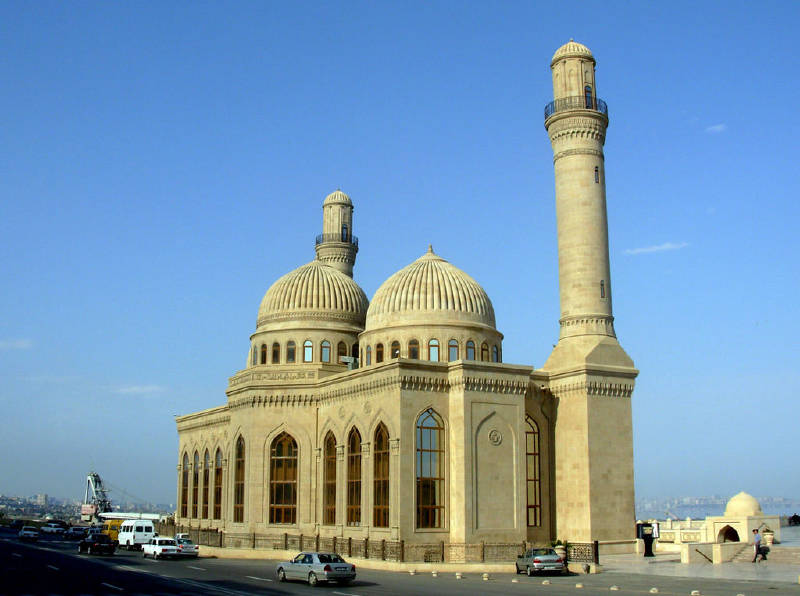13. yüzyılda yapılan Bibi-Heybet Camii