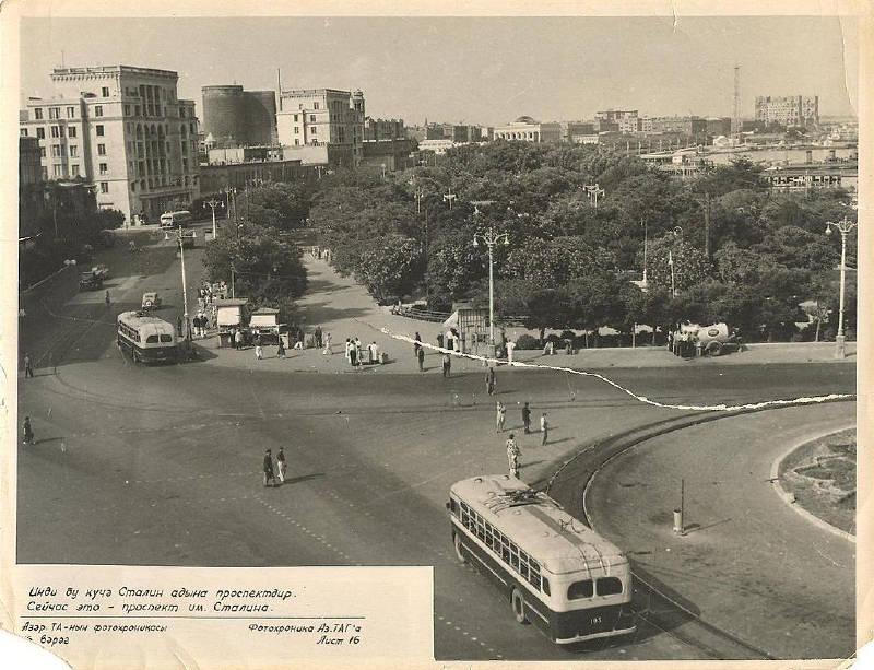 1960'larda Bakü