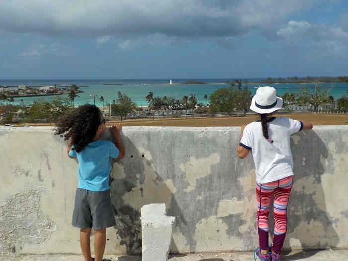 Bahamalar'da  doğal yapı