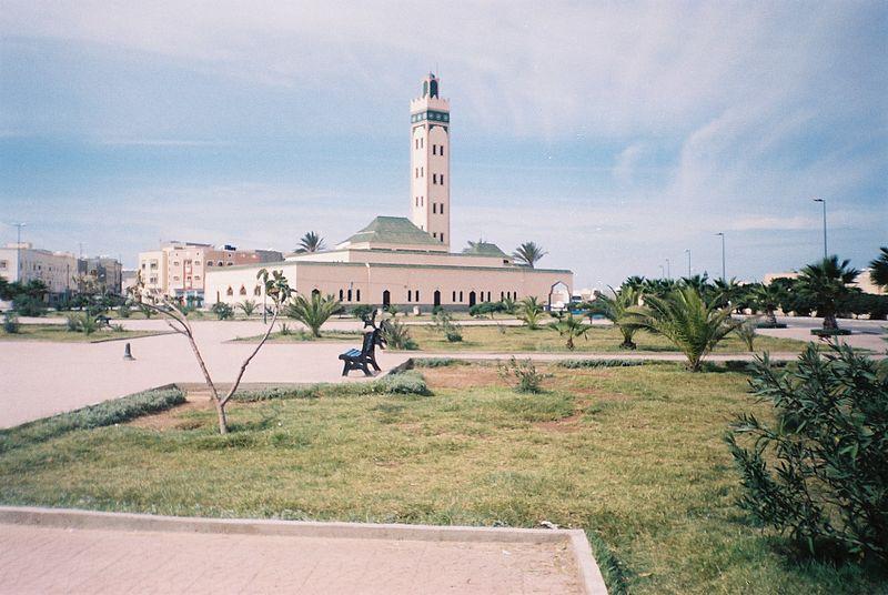 Dakhla Camii - Şehir Fas kontrolü altındadır