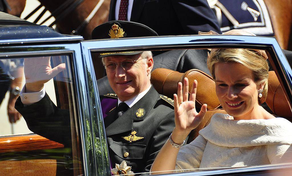 Belçika Kralı Philippe ve Kraliçe Mathilde