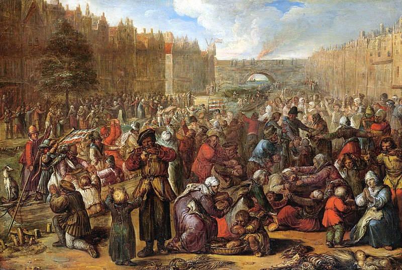 Leiden'in Kurtuluşu, 3 Ekim 1574