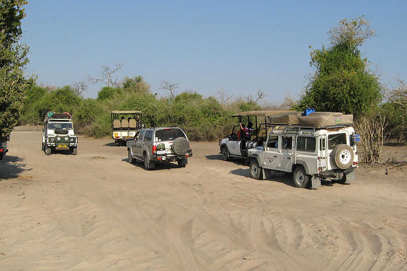 Chobe Ulusal Parkında Turizm