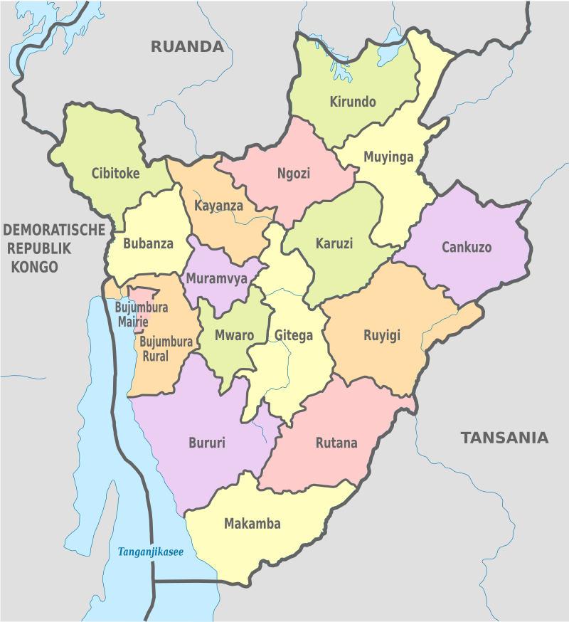 Burundi şehirleri