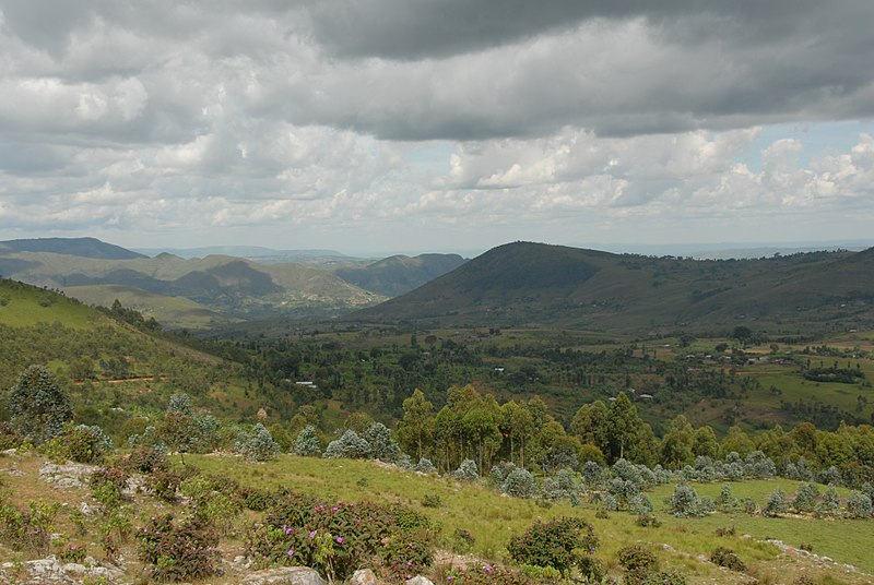 Burundi manzarası