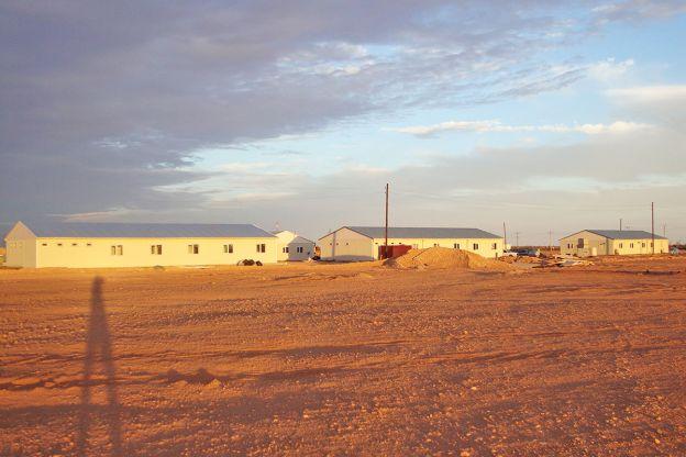 Cezayir'de  Maden  şantiyesi