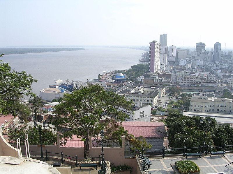 Guayaquil (en kalabalık şehir)