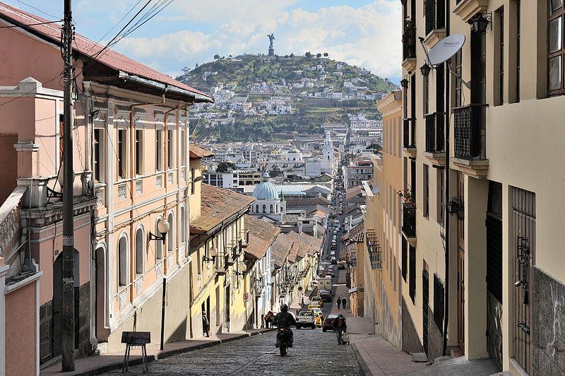 García Moreno Sokağı - Quito