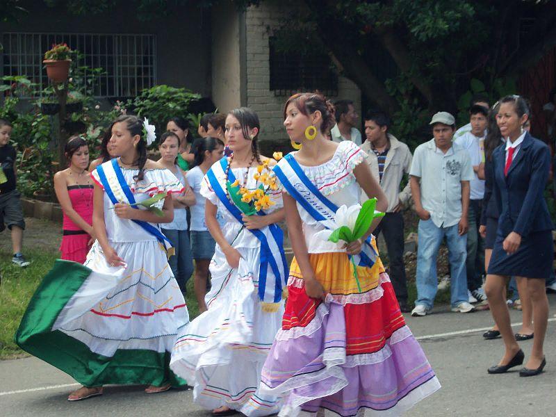 Las Chinamas'ta kutlamalar