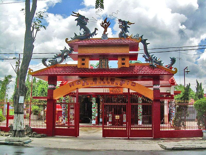 Çin Konfüçyüs Tapınağı, Bojonegoro (Java)