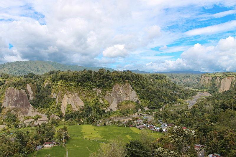 Bukittinggi'deki Sianok Kanyonu, Batı Sumatra