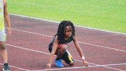 Usain Bolt'un Varisi Minik Atlet 100 Metreyi 13 Saniyede Koştu
