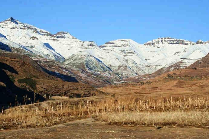 Drakensberg Sıradağları