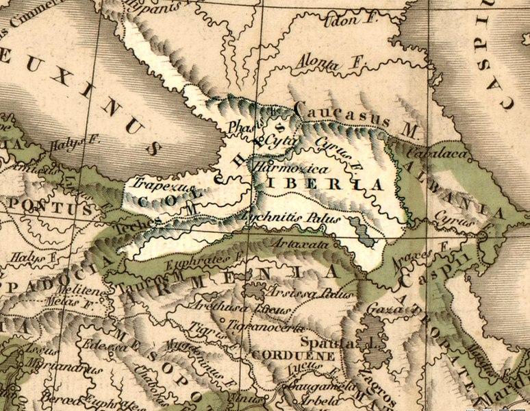 Kolhis ve İberya, MÖ IV.-III. yüzyıllar